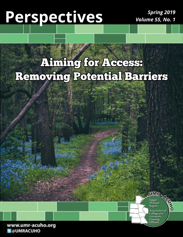 Perspectives 2019 Cover - Aiming for Access: Removing Potential Barriers
